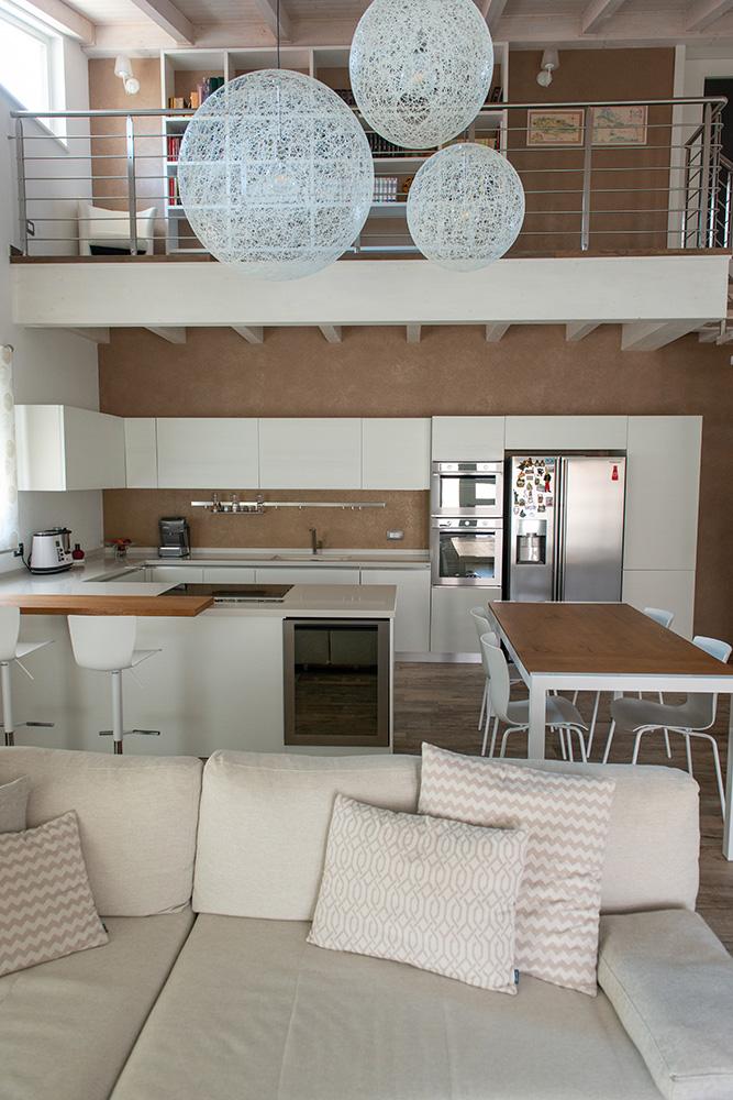 progetto arredamento casa loft verona