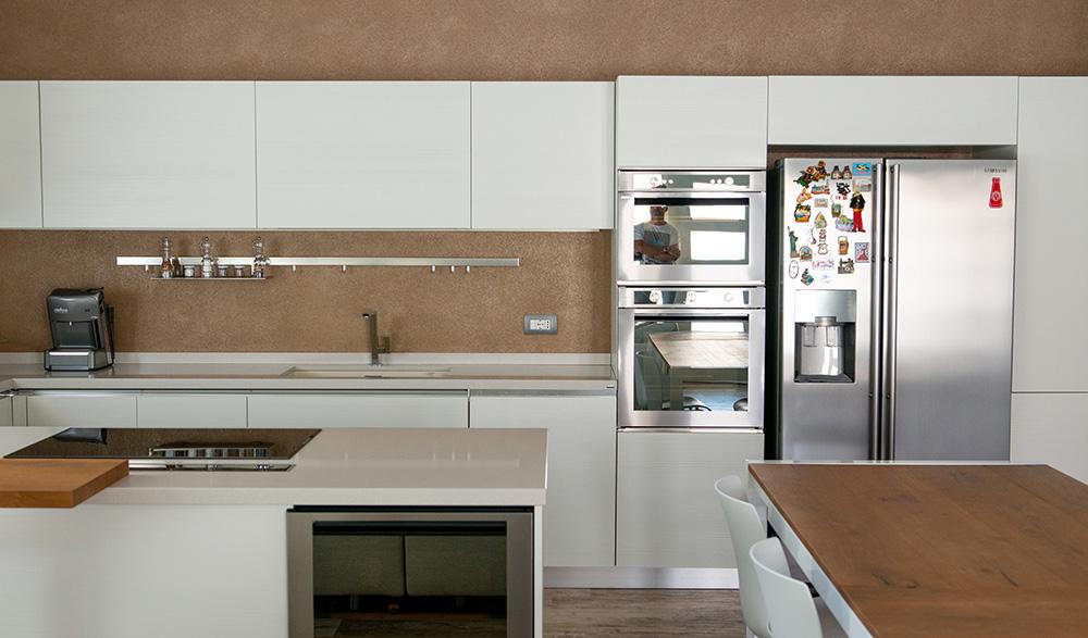 progetto arredo cucina openspace verona