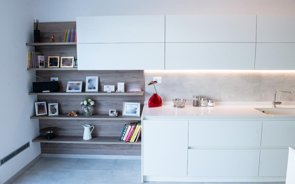 cucina soggiorno moderna verona