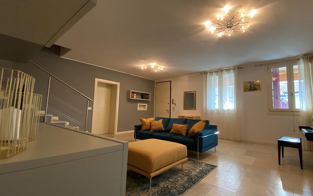 progettazione arredamento soggiorno moderno verona