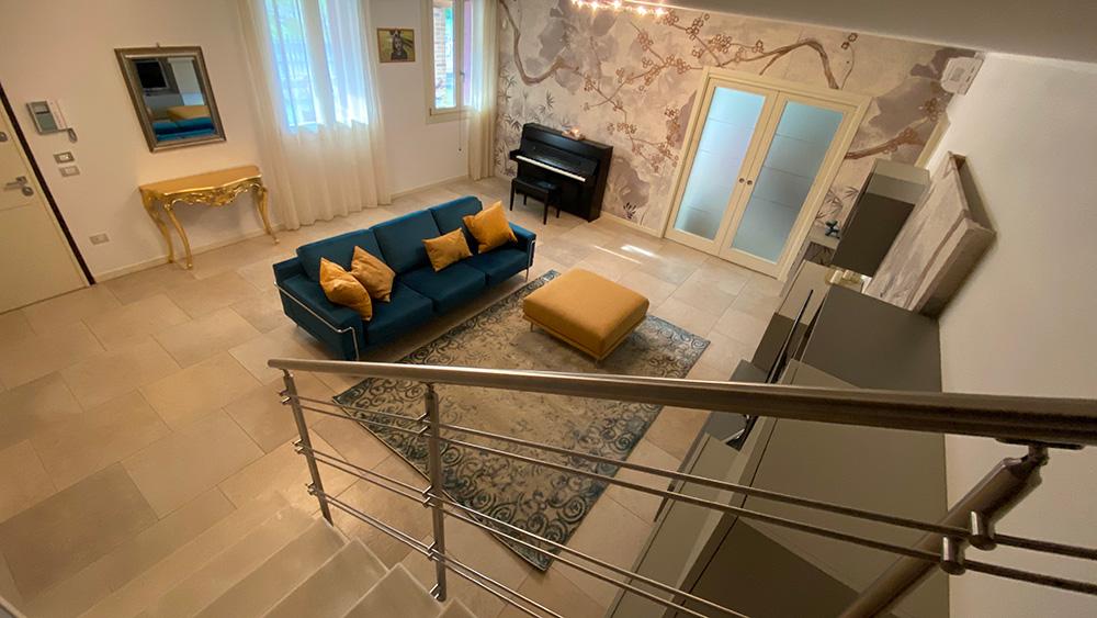 progettazione interni soggiorno verona