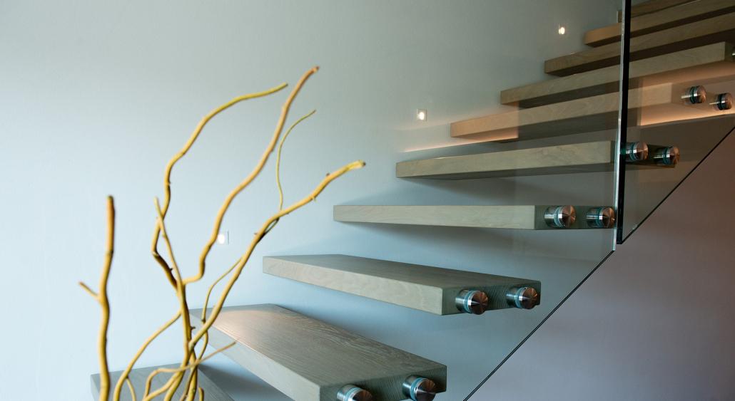 progettazione scala moderna casa