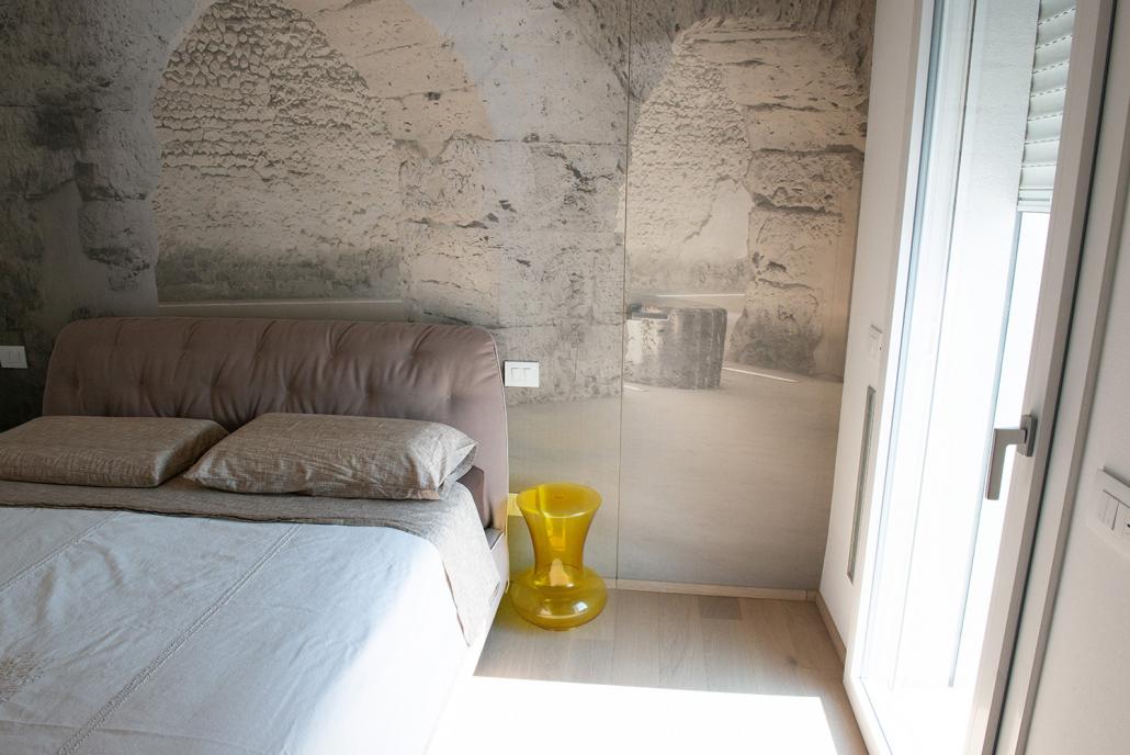 progetto arredo camera letto verona