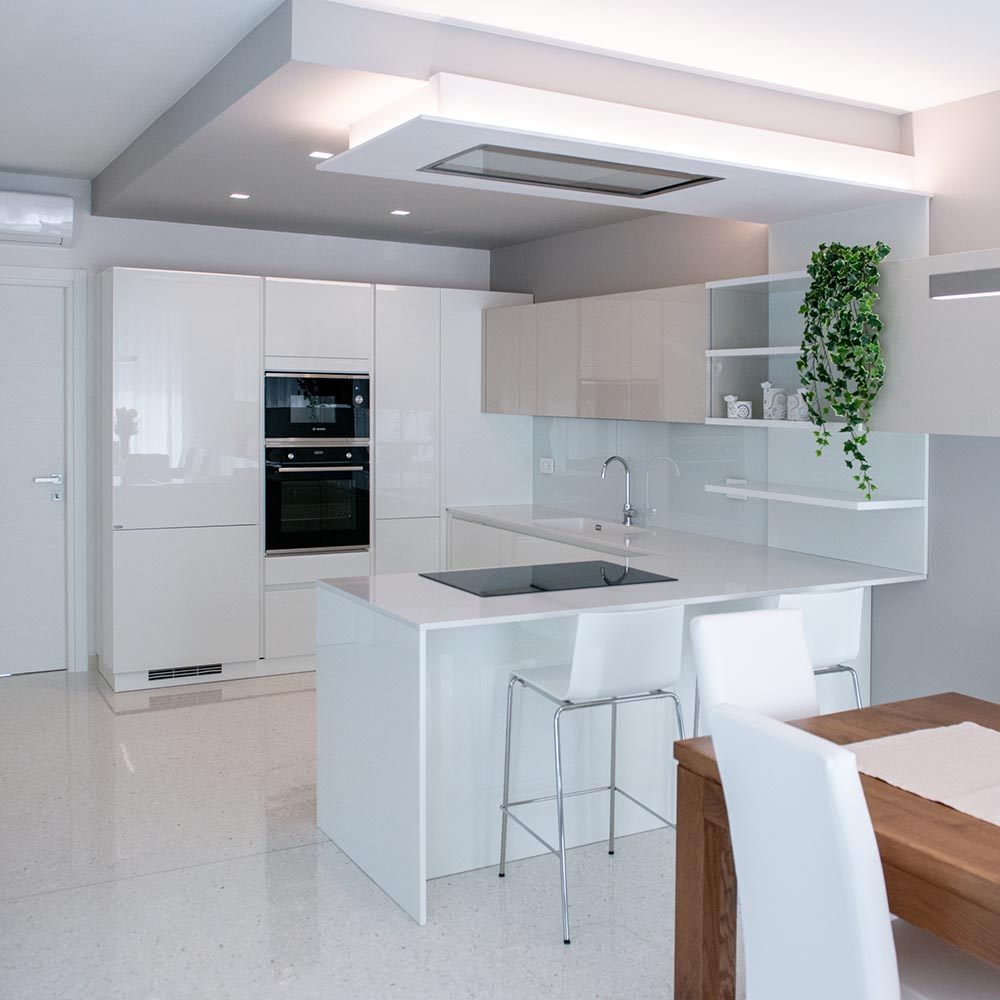 arredo cucina bianca padova