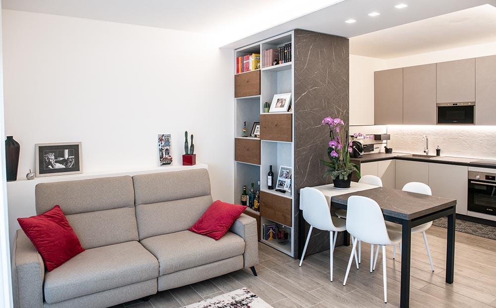 arredo soggiorno moderno padova