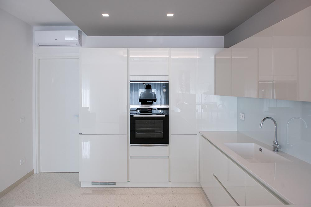 cucina su misura lucida padova