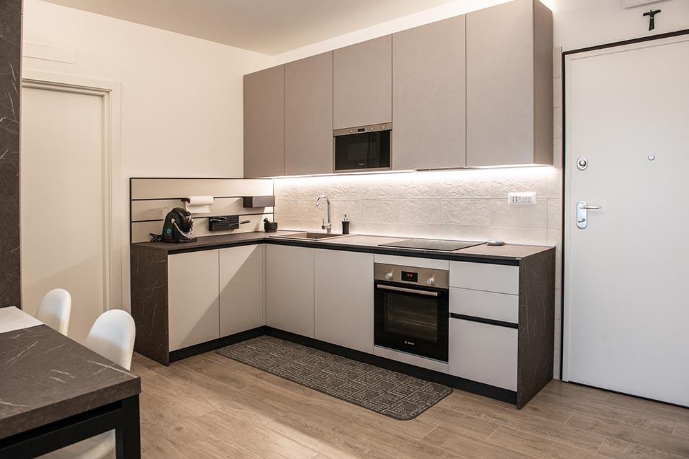 cucina angolo moderna padova