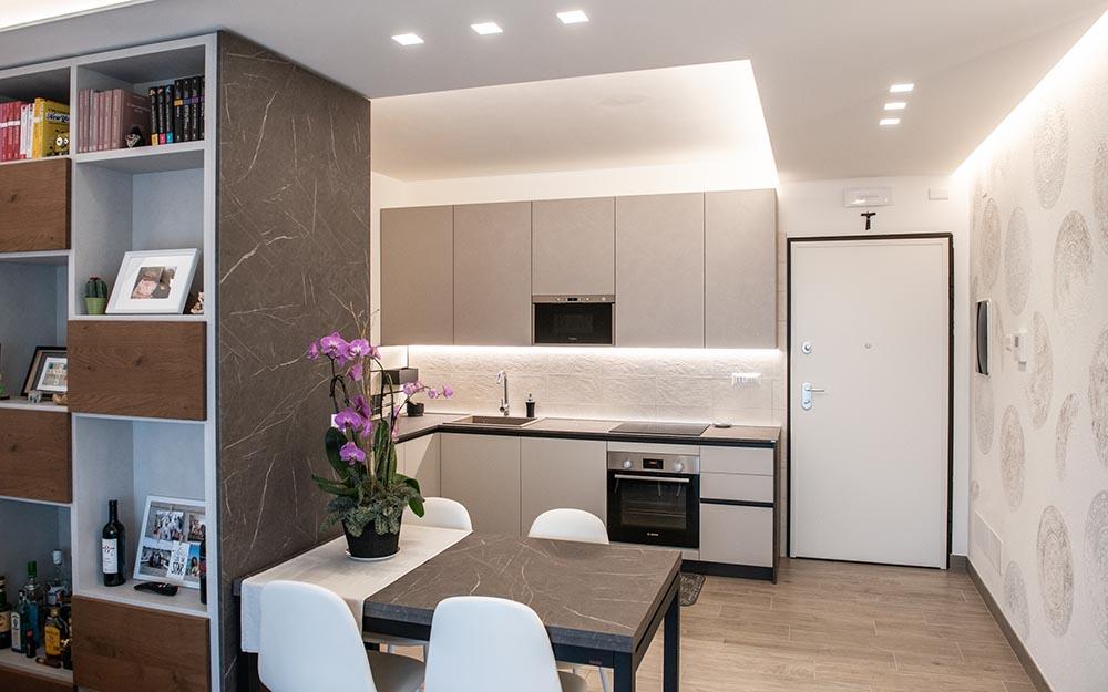 mobili cucina soggiorno padova