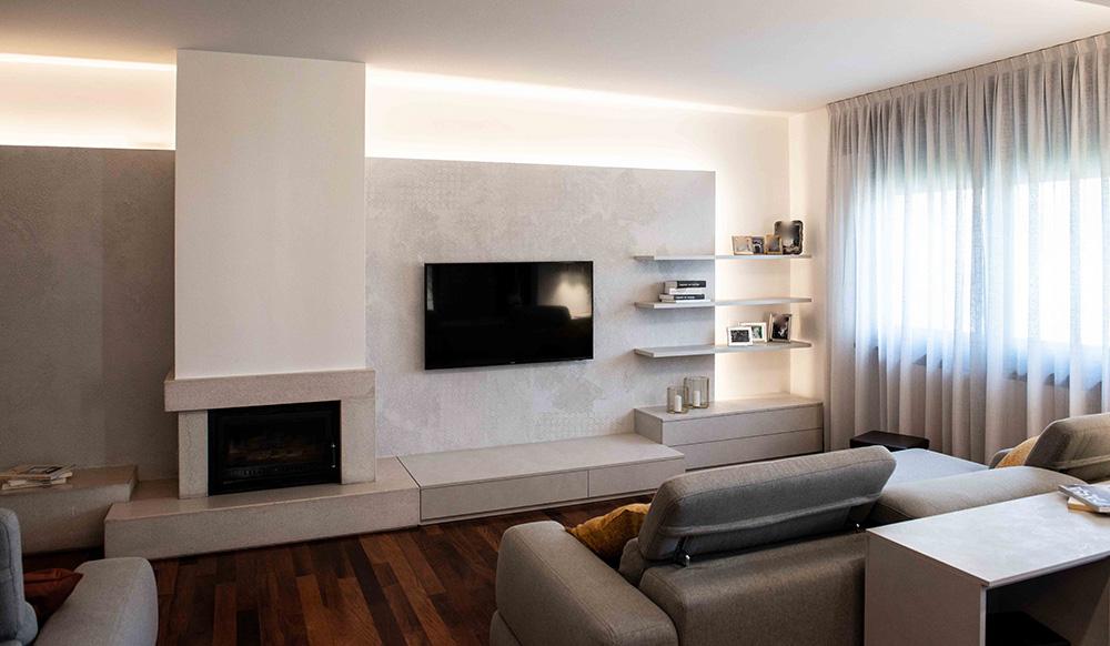 soggiorno moderno verona