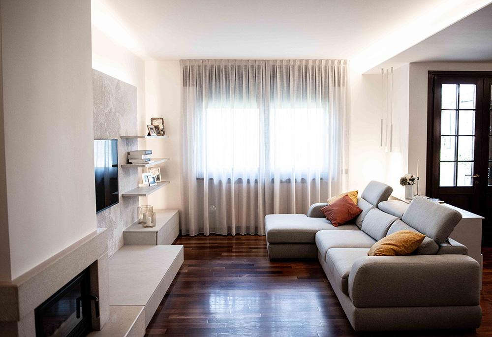 soggiorno restyling verona