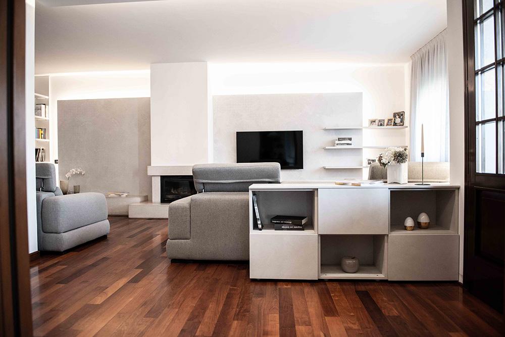 soggiorno moderno restyling verona