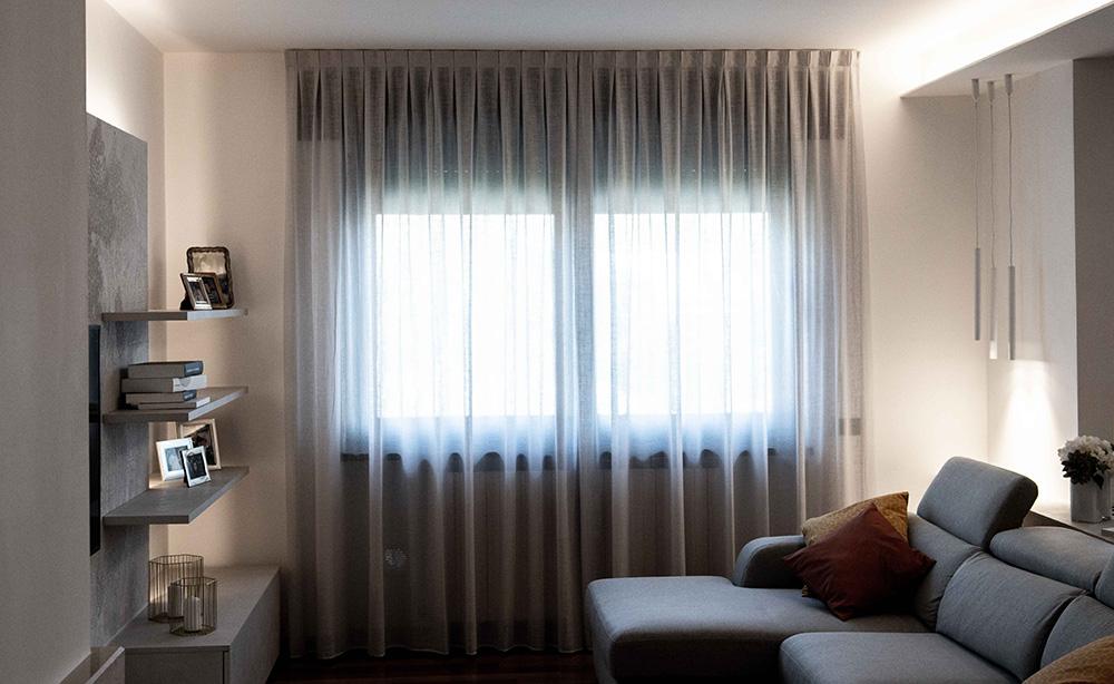 tende moderne soggiorno verona
