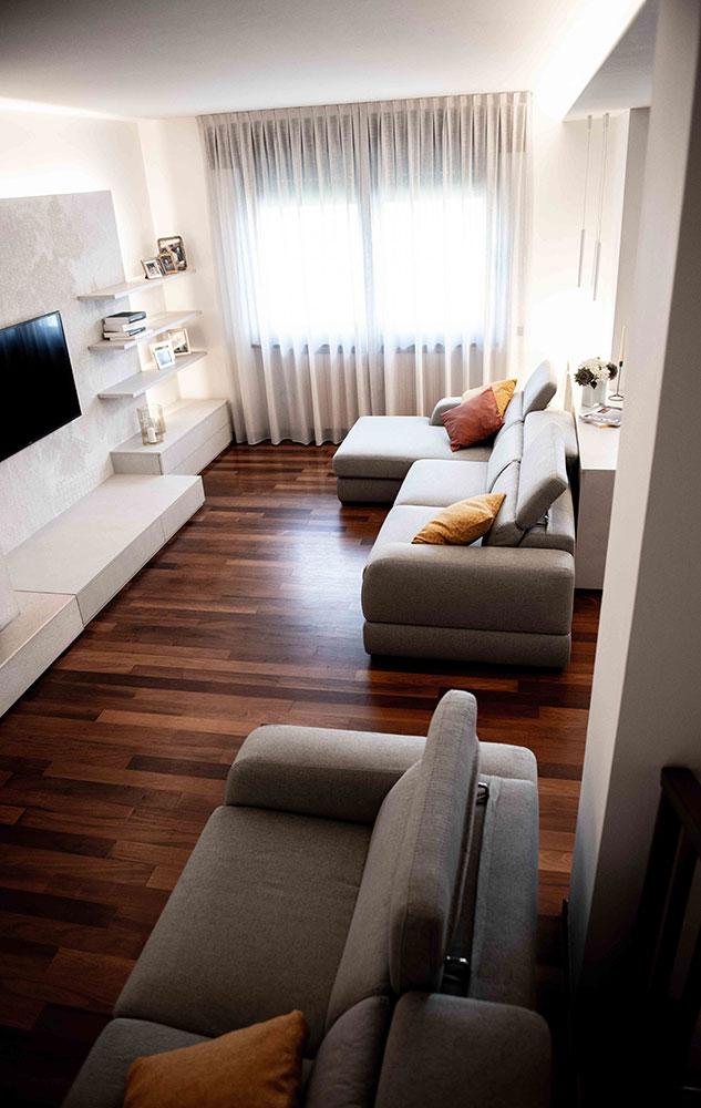 arredo moderno soggiorno verona